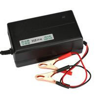 Car Styling 12 Volt Car Battery Charger Automatic Float Car Truck Motorcycle Mower Td913 Dropship