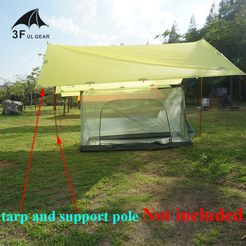 3F Gear outdoor summer tent HIKER ultralight one two person inner camping tent
