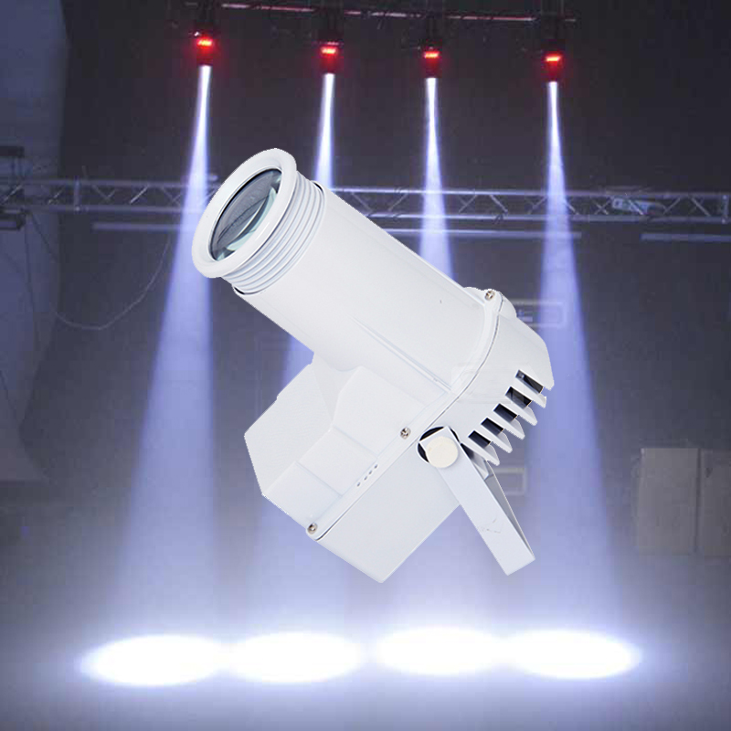Mini Pinspot 10W LED Lamp White Cover Spot Light Narrow Beam Pinspot Lighting Mount Spotlight Projector For KTV CelebrationParty