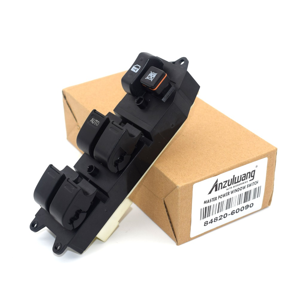 Power Window Lifter Master Control Switch 84820-60090 8482060090 For <font><b>Toyota</b></font> Echo Yaris T.U.V <font><b>4Runner</b></font> Hilux Land Cruiser Camry image