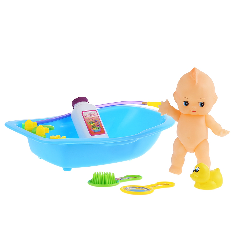Baby Bath Toys Simulated Infant Bathing Bathtub Educational Toy Play ...