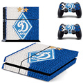 Football Club Moscow Dynamo Vinyl Skin Sticker for Sony PS4 Console and 2 Controllers Decal Cover Game Accessories