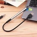 Современный Дизайн Брода Порт USB LED Таблица Настольная Лампа Для обучение Power Bank & Ноутбук Книга Свет Маленький Удобный Энергии экономия