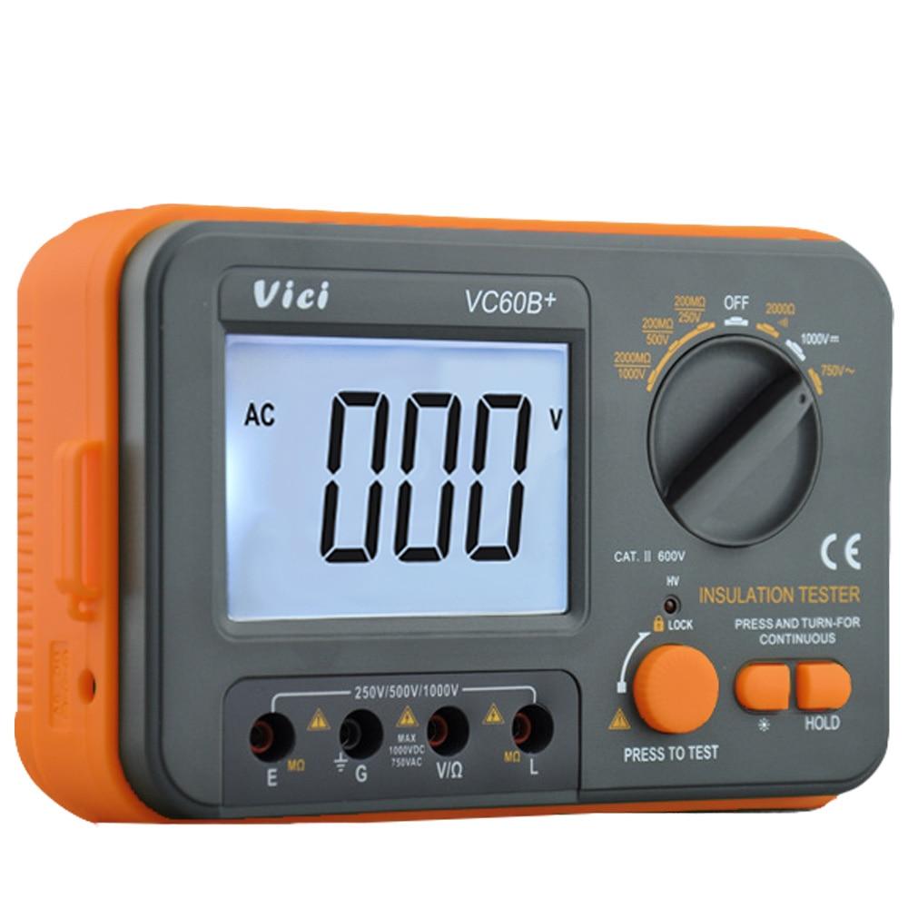 VICI VC60B 1000v megger insulation tester megohmmeter ohm tester insInsulation Resistance Tester megger insulation multimeter