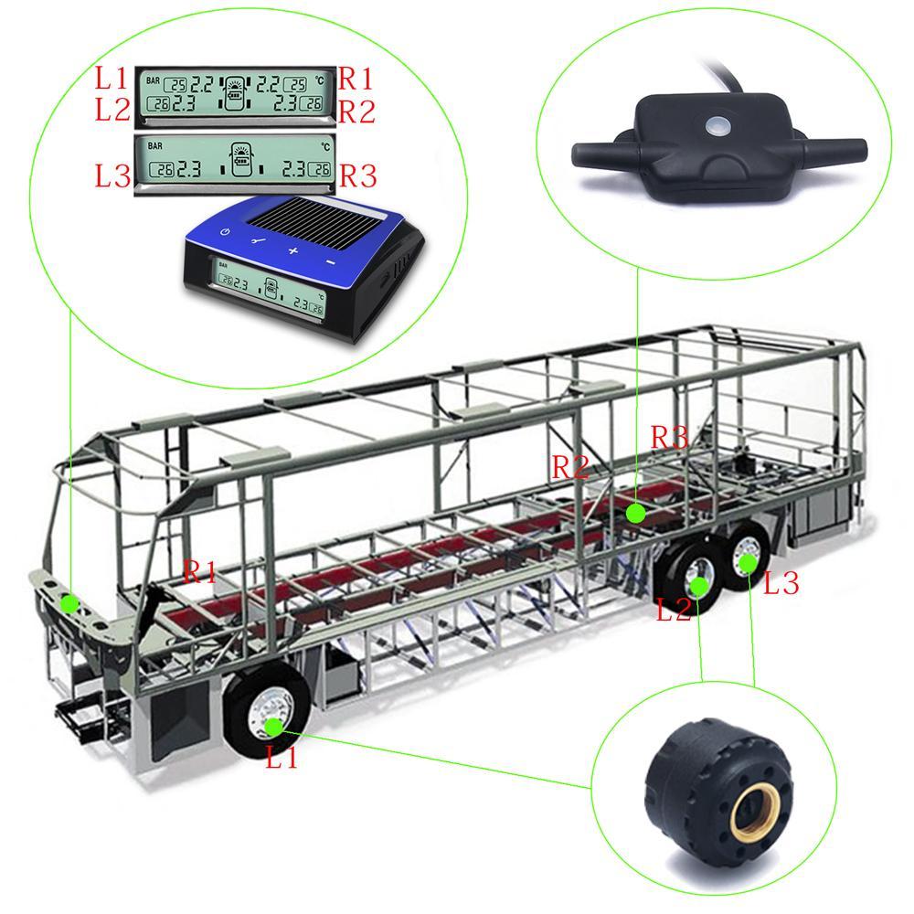 CARCHET TPMS rehvid rõhumõõtesüsteem päikeseenergia traadita - Autode Elektroonika - Foto 4