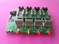 4 channel 16 bit DAC module with output voltage and current detection AD5760 AD7606 industrial grade