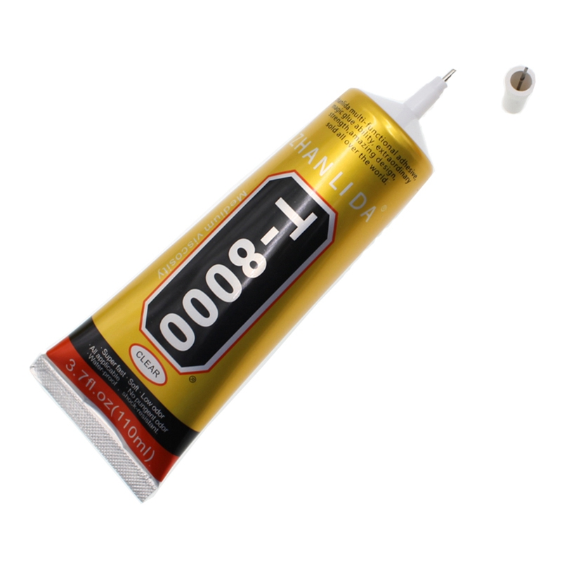 <font><b>110ml</b></font> <font><b>T8000</b></font> glue rhinestone glue jewelry adhesive quick dry Strong glue use for nail art jewelry and garment image