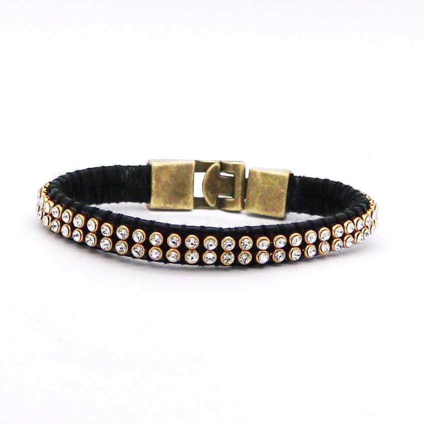 Новинка 2016 модные ювелирные изделия мужской кожаный браслет