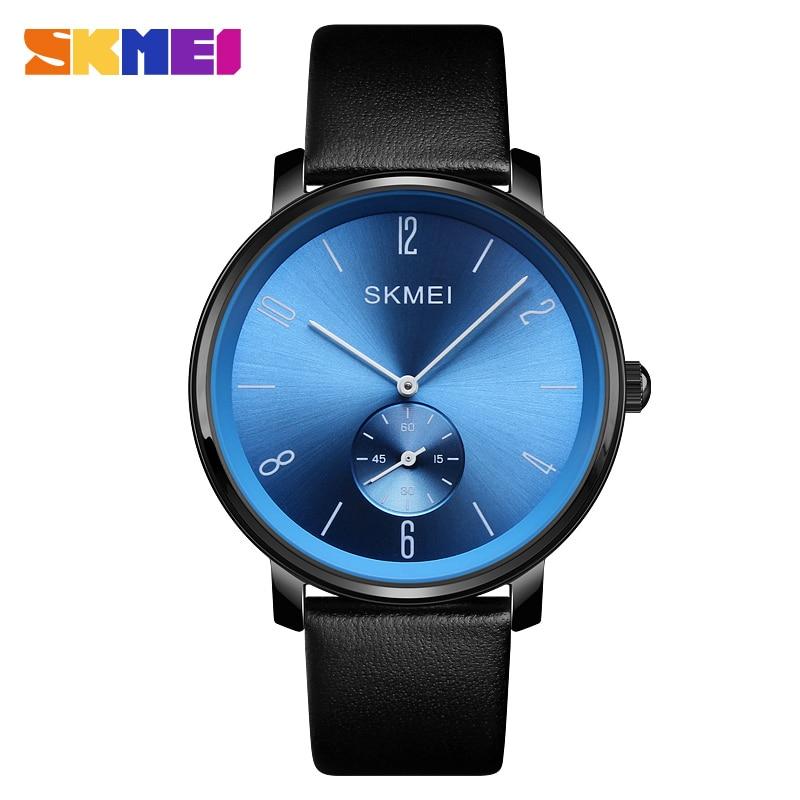 SKMEI Simple Quartz Men's Watch Fashion Male Clock Top Brand Luxury Water Resistant Time Man Wristwatch Business erkek kol saati стоимость