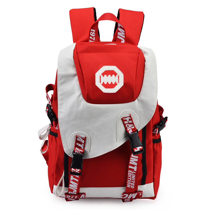 MCJH Backpack Men Male Canvas College Student School Backpack Casual Rucksacks Laptop Backpacks Women Mochila HOT SALE 8551 Gray brand canvas men women backpack college high middle school bags for teenager boy girls laptop travel backpacks mochila rucksacks