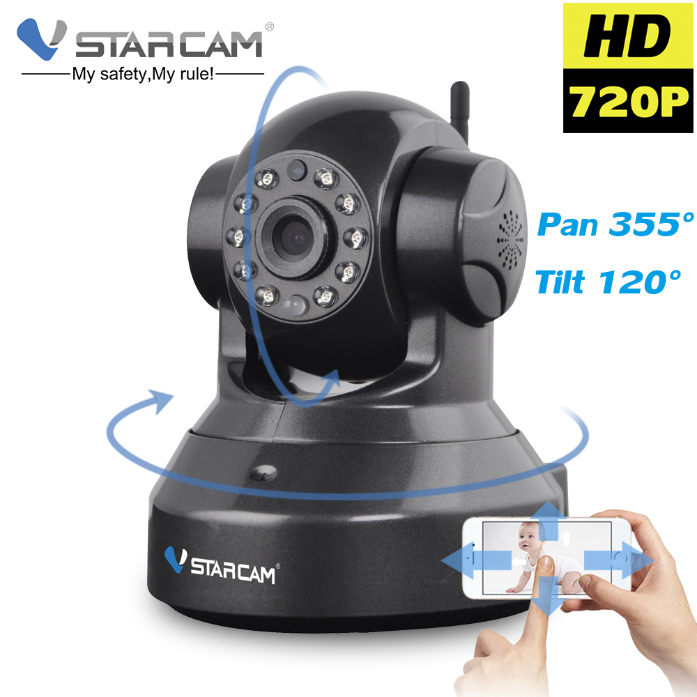 Vstarcam C7837WIP HD Wireless IP WIFI Camera Wi Fi CCTV Camara Indoor Night Vision Pan Tilt