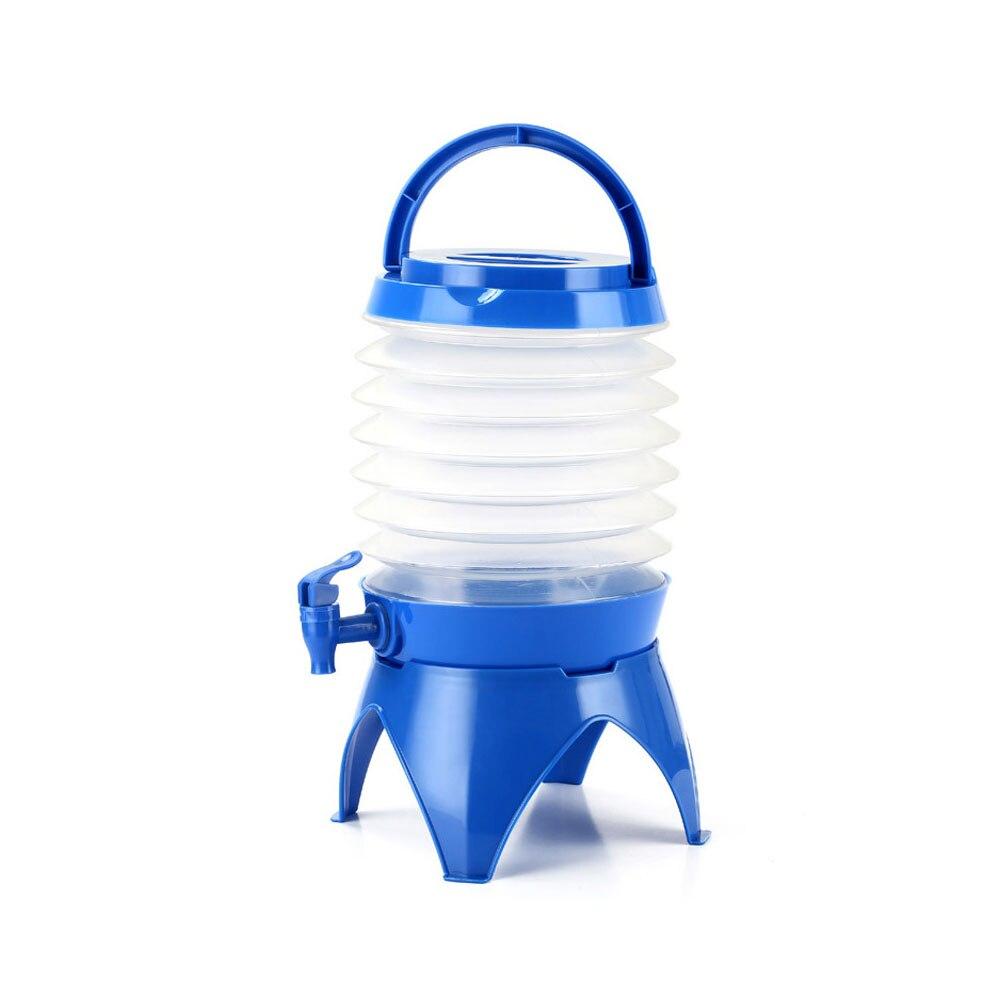 Складное ведро голубое портативное складное ванночка для ног складывающийся таз туристические поездки за рубежом принадлежности Туристические сумки для умывальника - Цвет: blue
