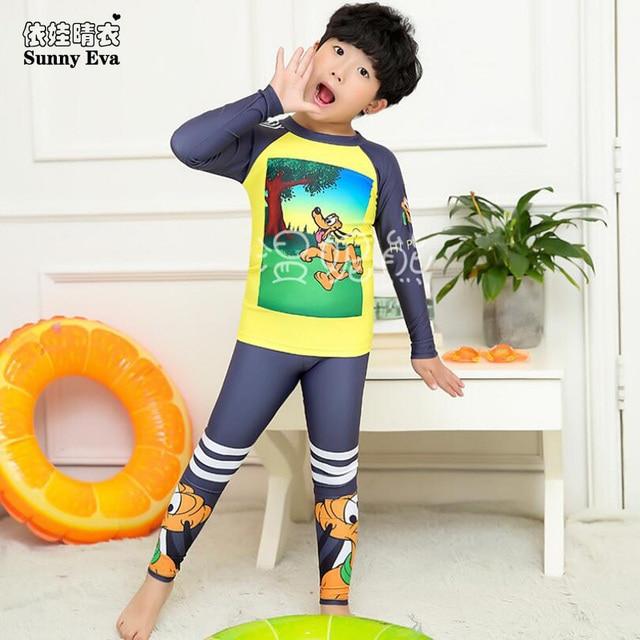 Sunny Eva Boys Swimwear Full Sleeve Tankini Swimsuits Children