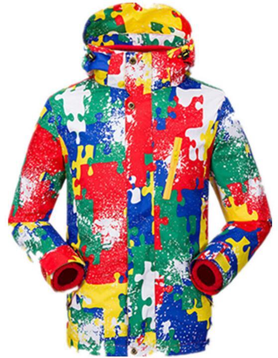 Nouvelle veste de Ski d'hiver pour enfants veste imperméable extérieure WindStopper veste de neige d'escalade chaude manteau de Ski enfant