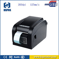 Cheap Hot Sale Max 152mm/s Printing Speed Thermal 80mm Barcode Printer with USB port for Retail Shops