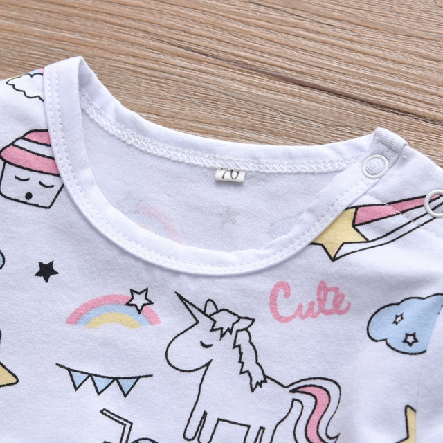 Three Pieces Baby Girls Clothes Set