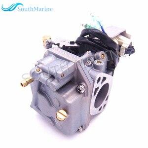 Image 2 - Boat Motor Carburetor Assy 6AH 14301 00 6AH 14301 01 for Yamaha 4 stroke F20 Outboard Engine