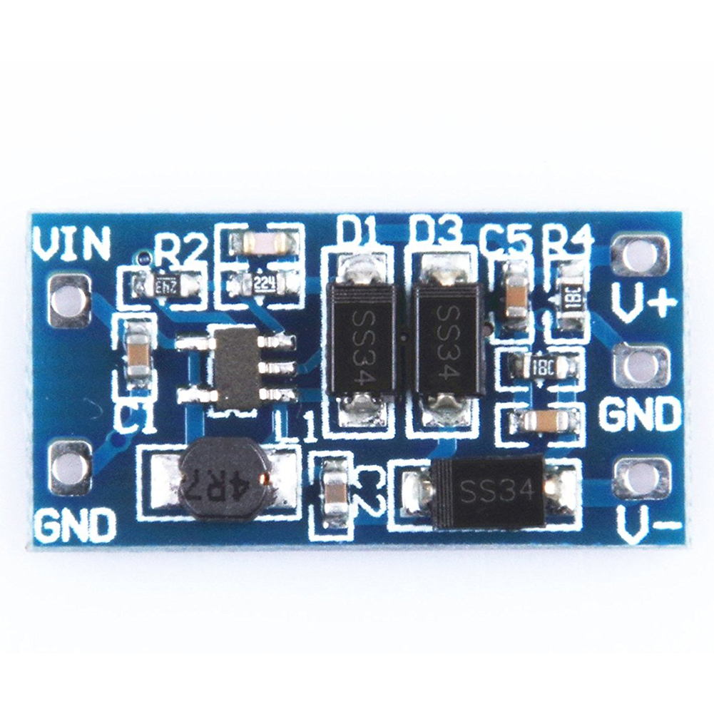 Boost Power Module 2.8V-5.5V to +/- 12V DC-DC Power Converter Board Blue