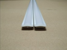 Free Shipping Hot 200cm aluminum led profile for bar led strips 5630 5730 8520 10-12mm PCB milky/ transparent PC cover,