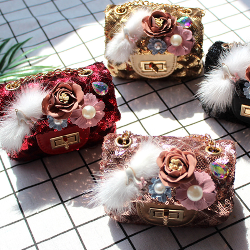 Raged Sheep Cute Girl Kids Coin Purses Holder PU Casual Floral Kids Bag Coin Pouch Baby Wallet Money Holder Kid Gift Mini Bag