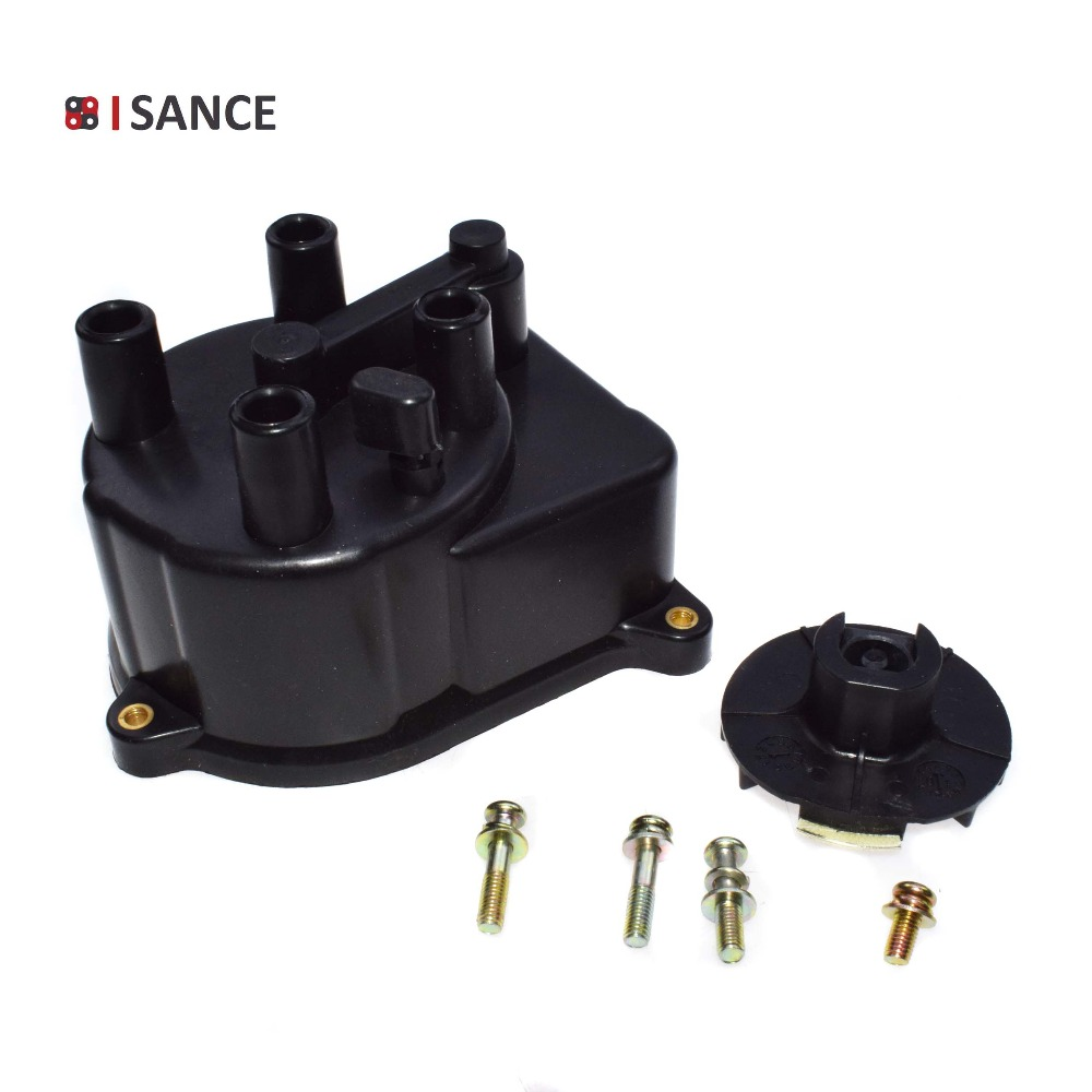 Auto Replacement Parts Responsible Isance Ignition Distributor Cap & Rator 30102-p54-006 30102-pcb-004 30103-p08-003 For Honda Accord Cr-v Civic Acura Integra El High Resilience Exhaust Systems