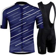 Go pro Jerseys Runchita 2019 summer Bike Clothes Short Sleeve Cycling Wear Men MTB Road Jersey Set Breathable GEL Pad