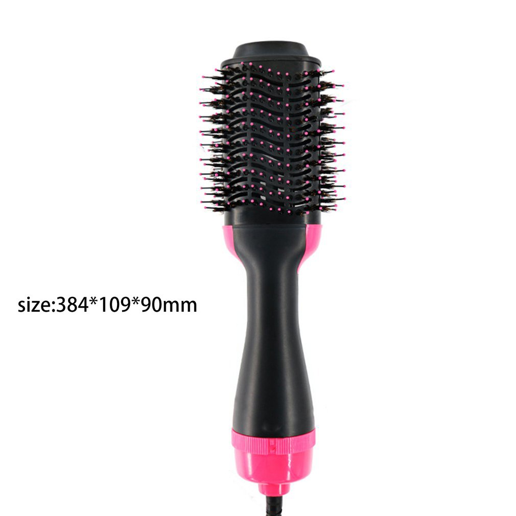 Two in one Hot Air Brush Negative Ion Straight Hair Comb Electric Curler Multi Function Infrared Hot Air Comb in Curling Irons from Home Appliances