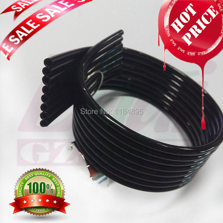 8-lines UV Ink Tube for Galaxy/Mimaki/Mutoh/Epson UV Printer Supply Ink Lines Tube for Damper and Cartridge ( ID=3mm OD=4mm) free shipping 10pcs uv big damper for mimaki jv3 jv4 jv22 uv ink printer