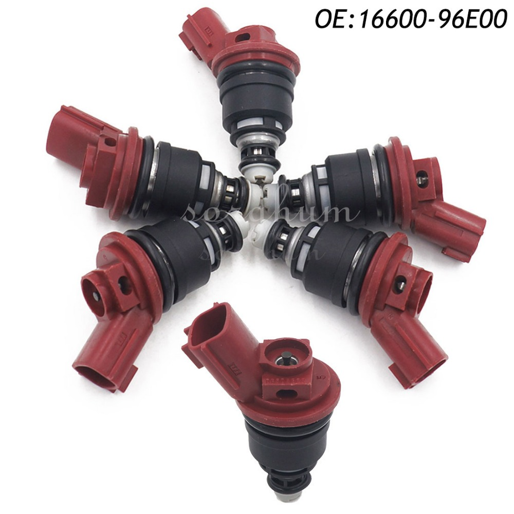Pcs Fuel Flow Injector For Nissan Zx Maxima Jecs Infiniti I J L A on 300zx Injector Replacement