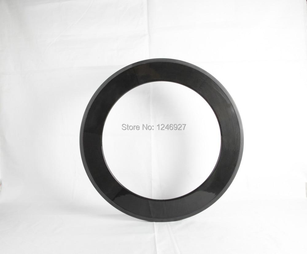 New material super light weight 700C 88mm clincher carbon wheel rims