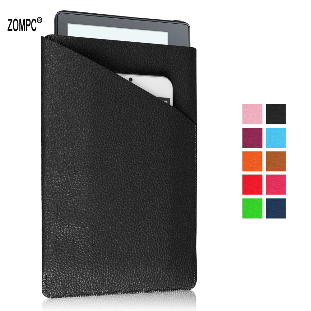Luxury Leather Case Protective Tablet Cover Phone Pouch Bag For iphone 6 6S 7 7S 8 X For Kindle Paperwhite 1 2 3 Oasis 7 Tablet
