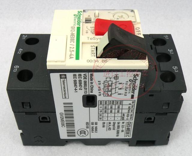 Origin Schneider (Shanghai) motor circuit breakers GV2 ME08C ...