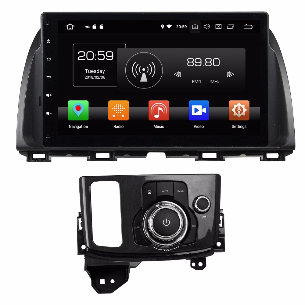 Android 8.0 Octa Core 10.1 Car DVD GPS for Mazda CX 5 CX5 Atenza With 4GB RAM Radio Bluetooth 4G WIFI 32GB ROM USB Mirror link
