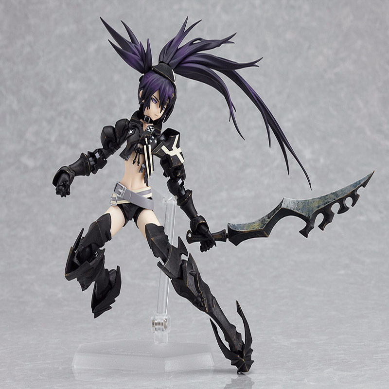 Japan Anime Figure Insane Black Rock Shooter Figma SP 041 PVC Action Figure Collectible Model Toys Gift