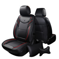5 Seats Automobiles Seat Covers Customized High Quality Car Leather Covers Comfortable Seat Cushion Cover For Car