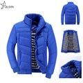 Мода Зимняя Куртка Мужчины Падения И Парки Мужчины Куртка Мужчины Повседневная Пальто Мужчины Одежда WQ9906
