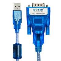 Frete grátis 1-port usb para RS-232 conversor de série com esd proteção conversor adaptador cabo ftdi chipset usb para com db9