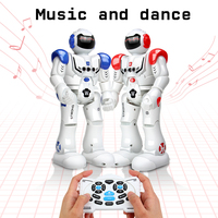 DODOELEPHANT Robot USB Charging Dancing Gesture Action Figure Control RC Robot Toy For Boys Children Kids