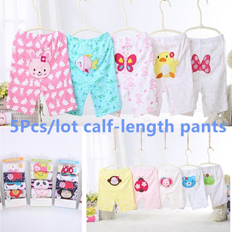 2016 Summer Baby Shorts Pant Boys  Girls Clothes Fashion 100% Cartoon Styles Newborn 0-24 Months Kids Trousers Baby Clothes