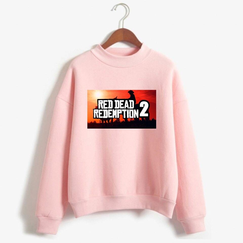 Red Dead Redemption 2 Sweatshirt Men/Women Simple Print Sweatshirt Harajuku Hoodie Top Dropship