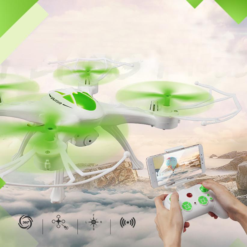 Mini Drone JJRC H29WH RC Quadcopter 2.4G 4CH 6-Axis Gyro With 0.4MP WIFI Camera Drone with camera RC toys for children jjrc jj810 2 4g 4 channel 6 axis mini rc quadcopter gyro aerocraft with led