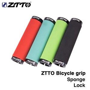 1 пара, ZTTO губка, прочные противоударные противоскользящие ручки для горного велосипеда, складной велосипед, фиксированное снаряжение BMX с з...