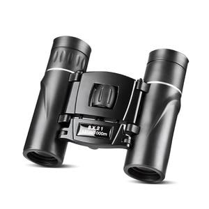 Image 3 - NANOO 8X21 HD Night Vision Mini Binoculars Telescope for Outdoor Sports Camping Hunting