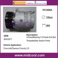 HIGH QUALITY AUTO AC COMPRESSOR V5 FOR DAEWOO CHEVROLET 96405817