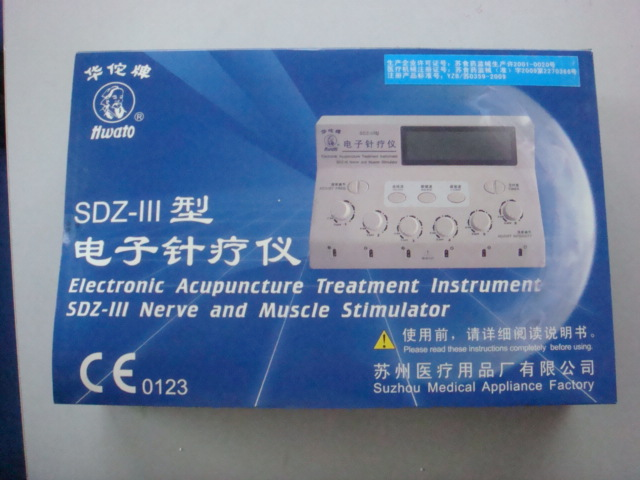 SDZ III Hwato Low-Freqency EMS Electro Stimulator Relax Massager Pulse Electronic Massage Equipment TENS Therapy digital