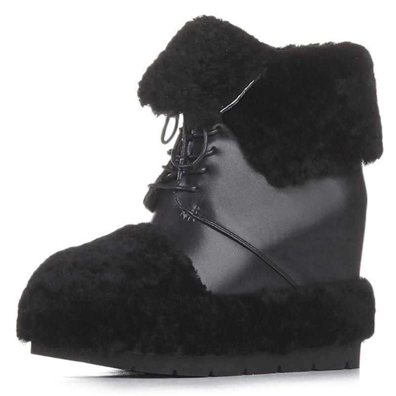 Di Tacco Lace Caviglia Alta Donne Scarpe Inverno Piattaforma Delle 8fXnUxqS