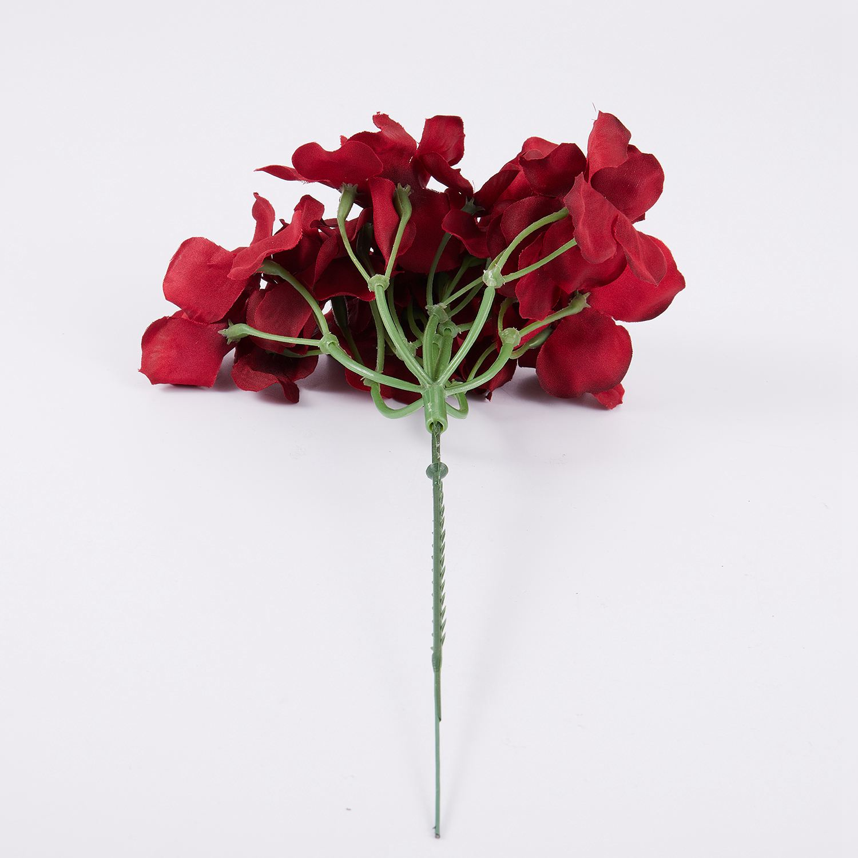 Silk Flower Wedding Decoration Artificial Spring Vivid Big Hydrangea ...