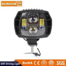40 Watt LED Off road Lichter 12 V 4×4 Fahrlicht 12 V Nebel STRAHL FÜR OFFROAD 4×4 LKW ATV UMKEHREN MOTORRAD Scheinwerfer 12 V Auto lampe