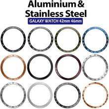 Ốp Viền Vòng Tạo Kiểu Cho Samsung Gear S3 Biên Cương Galaxy Dây 46 Mm/42 Mm/Gear S2 Cổ Điển Thông Minh vòng Tay Vòng Ốp Lưng Vỏ Bảo Vệ
