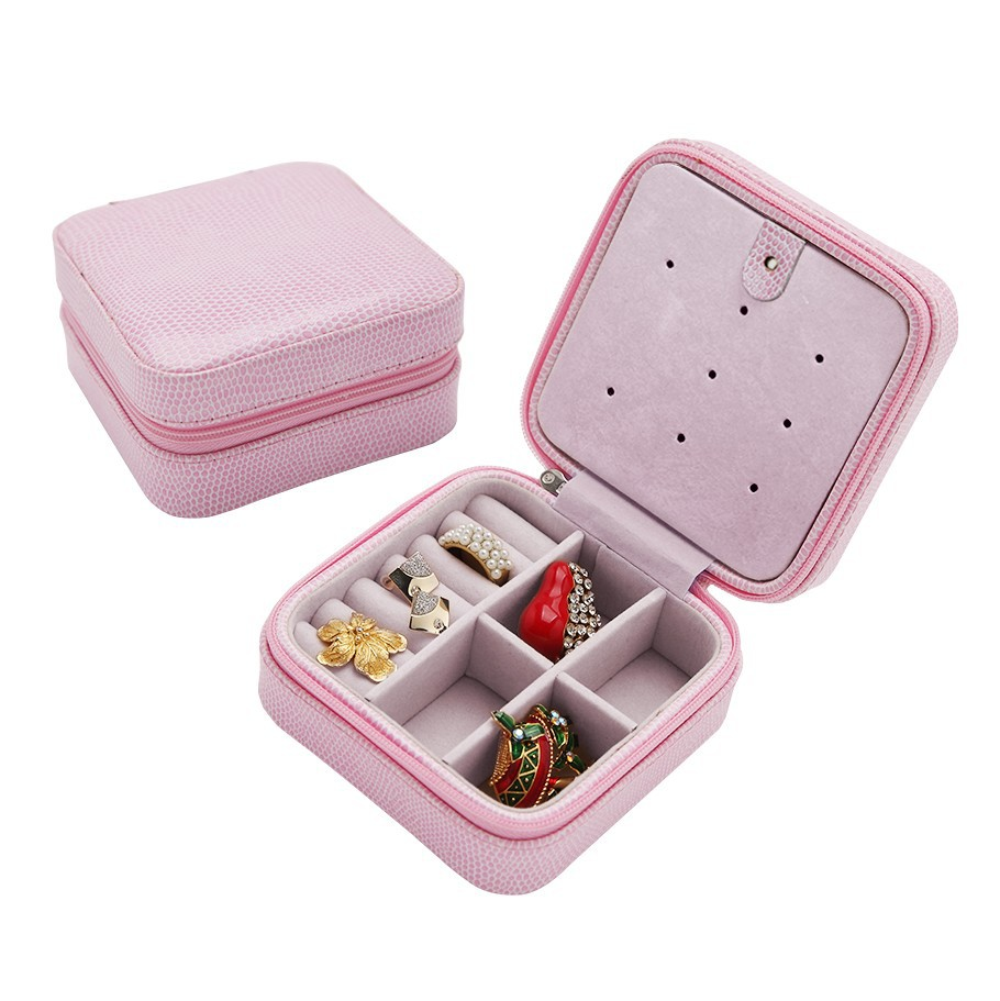 30pcs Lot Korea Creative Small Jewelry Bo Storage Cases Portable Travel Pu Earrings Snake Leather Box In Packaging Display From